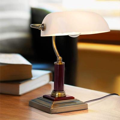 Lampe de banquier années 50